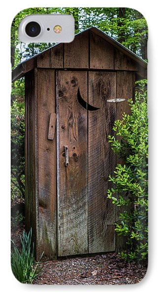 Old Outhouse IPhone Case