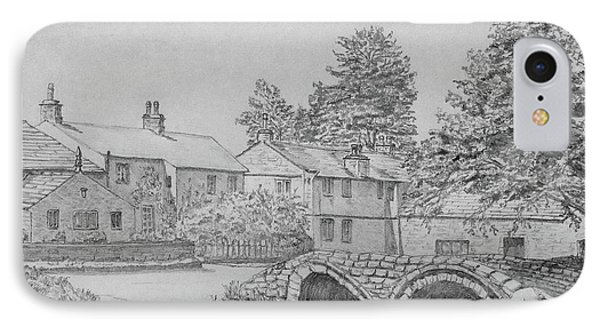 Old Packhorse Bridge Wycoller IPhone Case