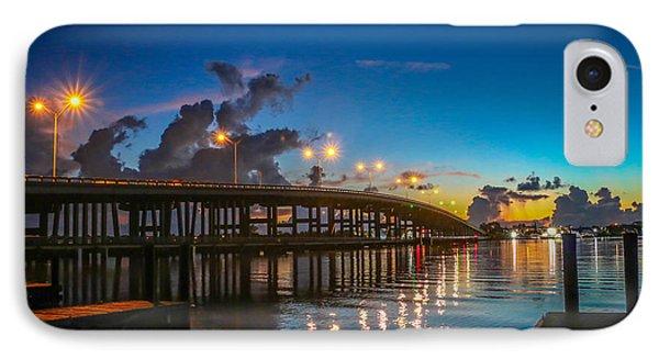 Old Palm City Bridge IPhone Case