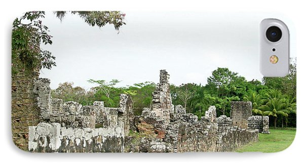 Old Panama City Ruins 8 Phone Case by Douglas Barnett