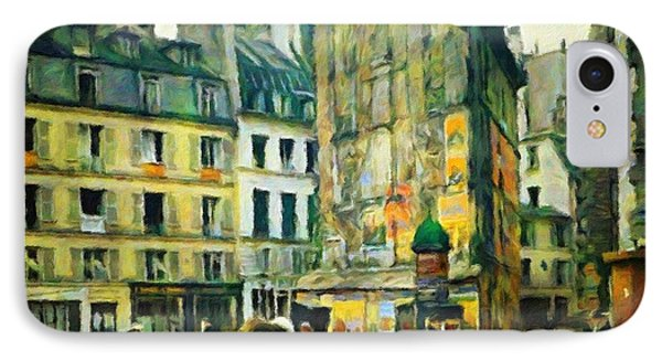 Old Paris Phone Case by Vincent Monozlay