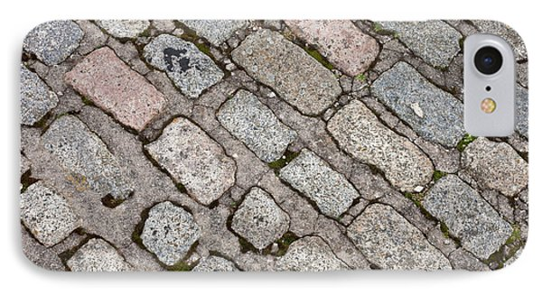 Old Paving Stones IPhone Case by Tom Gowanlock