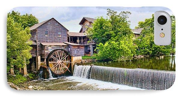 Old Pigeon Forge Mill IPhone Case by Scott Hansen