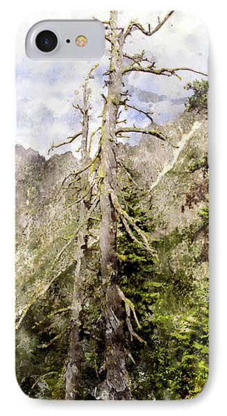 Old Pines Cascades Wc Phone Case by Peter J Sucy