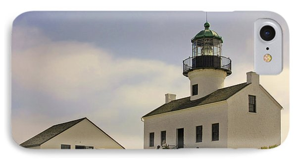 Old Point Loma Lighthouse - Cabrillo National Monument San Diego Ca Phone Case by Christine Till