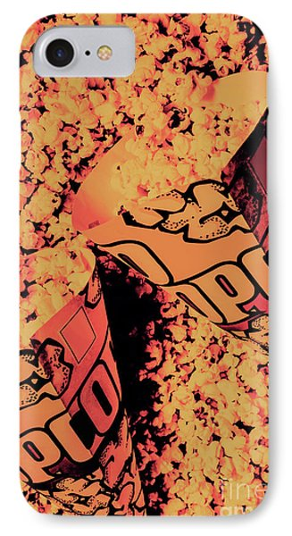 Old Pop Corn Culture IPhone Case by Jorgo Photography - Wall Art Gallery