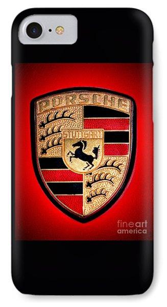 Old Porsche Badge IPhone Case