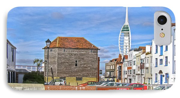 Old Portsmouth Flood Gates Phone Case by Terri Waters