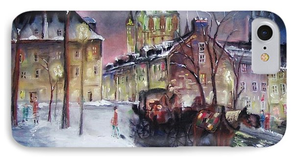 old Quebec IPhone Case by Peter Suhocke