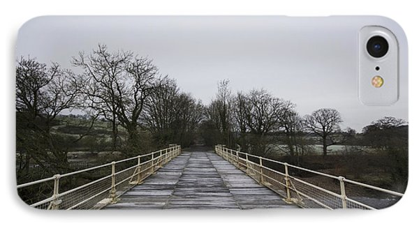 Old Railway Bridge IPhone Case by Nichola Denny