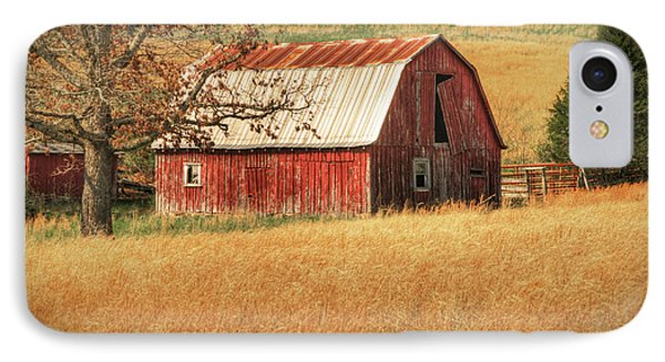 Old Red Barn Phone Case by Tamyra Ayles