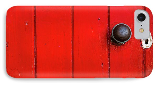 Old Red Door  IPhone Case