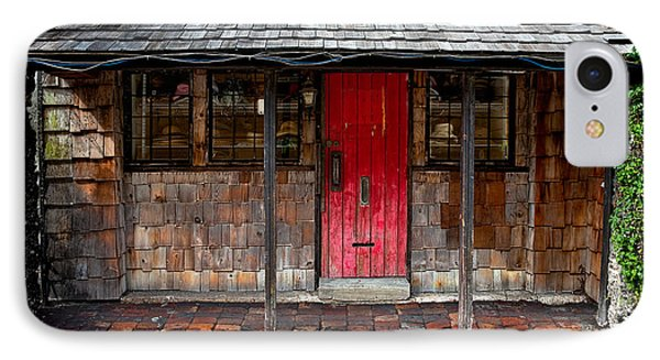 Old Red Door Phone Case by Christopher Holmes