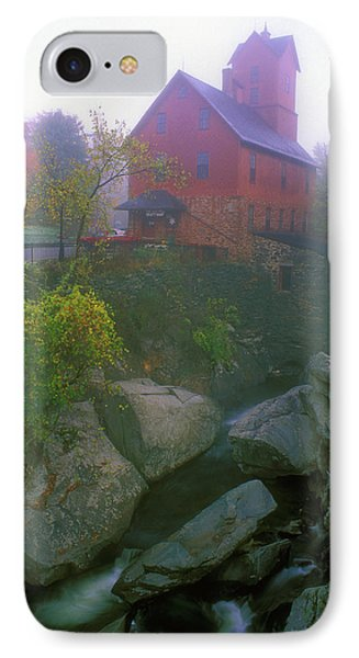 Old Red Mill Jericho Vermont Phone Case by John Burk