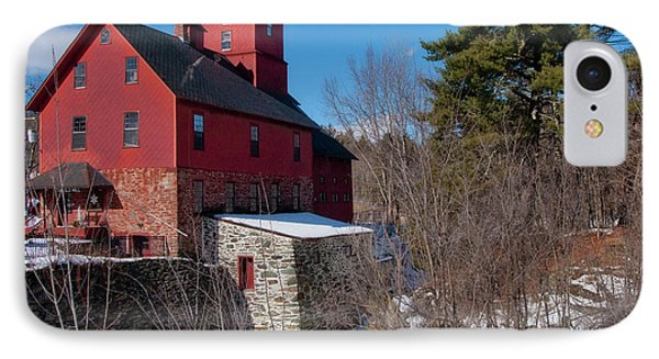 IPhone Case featuring the photograph Old Red Mill - Jericho, Vt. by Joann Vitali
