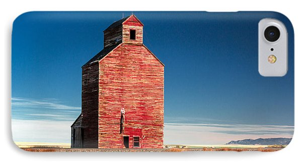 Old Red IPhone Case by Todd Klassy