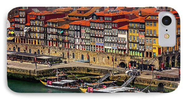 Old Ribeira Porto  IPhone Case by Carol Japp