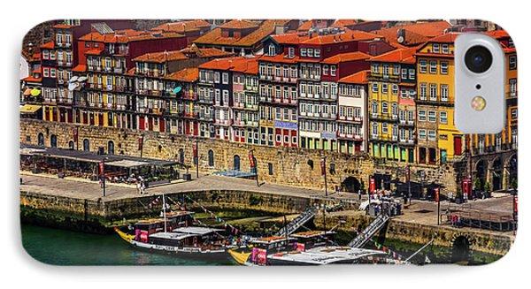 Old Ribeira Porto  IPhone Case by Carol Japp