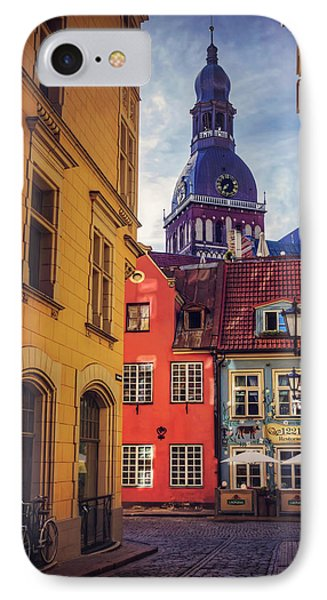 Old Riga  IPhone Case by Carol Japp