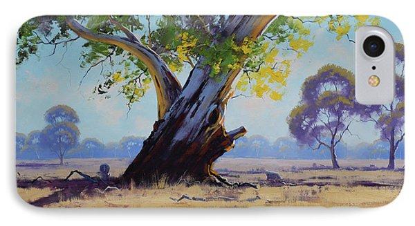 Old River Gum Australia IPhone Case by Graham Gercken
