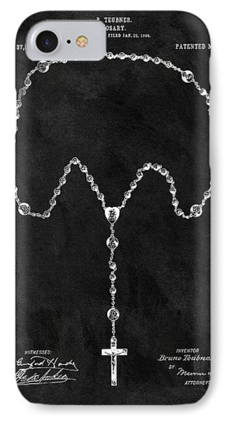 Old Rosary Patent IPhone Case by Dan Sproul