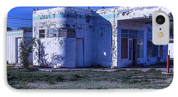 Old Run Down Gas Station IPhone 7 Case by Garry Gay