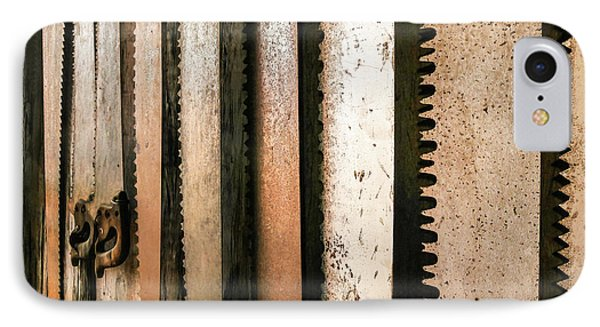 Retired Rusted Saws IPhone Case by Lexa Harpell
