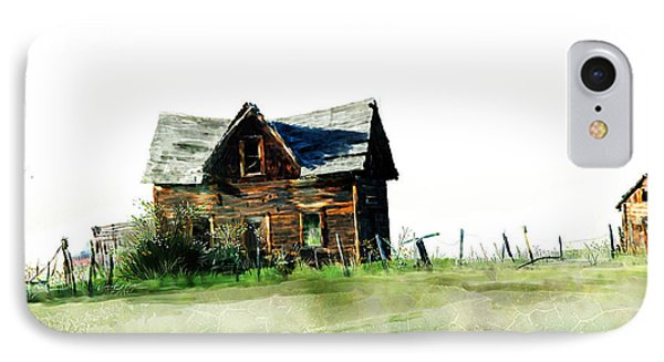 Old Sagging House IPhone Case by Debra Baldwin