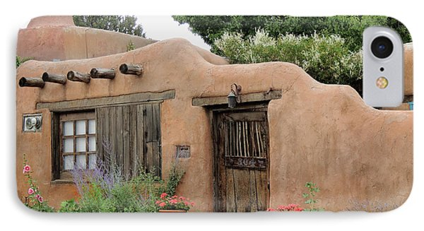 IPhone Case featuring the photograph Old Santa Fe Cottage by Gordon Beck