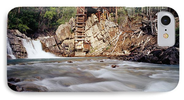 Old Saw Mill, Marble, Colorado, Usa IPhone Case by Panoramic Images