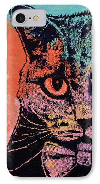 Old School Cat IPhone Case