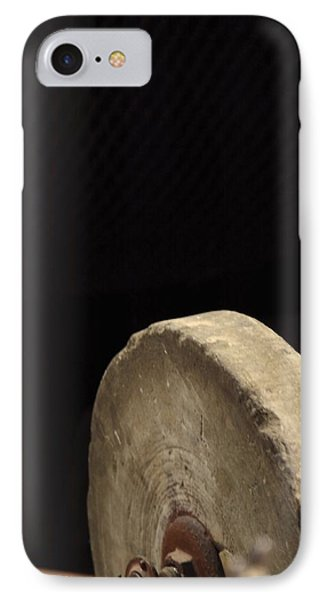IPhone Case featuring the photograph Old Sharpening Stone by Viktor Savchenko