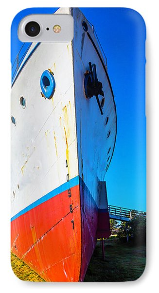 Old Ship Bow IPhone Case by Garry Gay