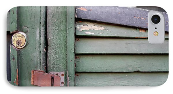 IPhone Case featuring the photograph Old Shutters French Quarter by KG Thienemann