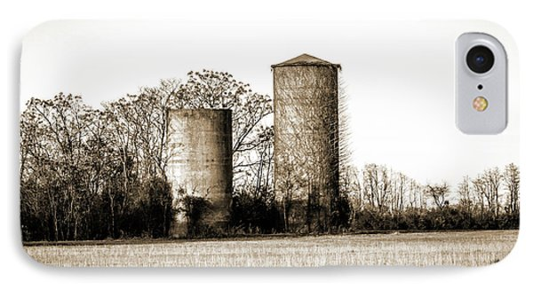 Old Silos IPhone Case by Barry Jones