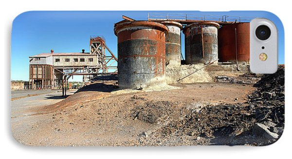 IPhone Case featuring the photograph Old Silver Mine Broken Hill by Bill Robinson
