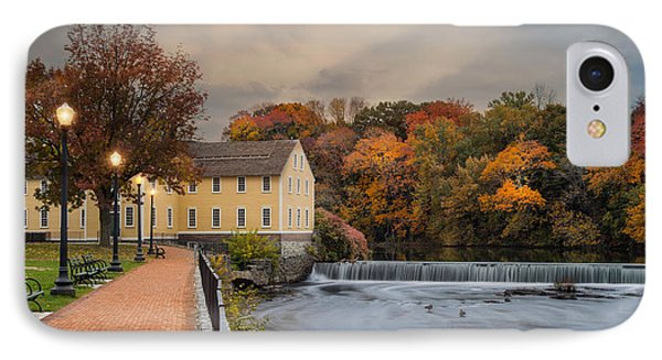 Old Slater Mill IPhone Case
