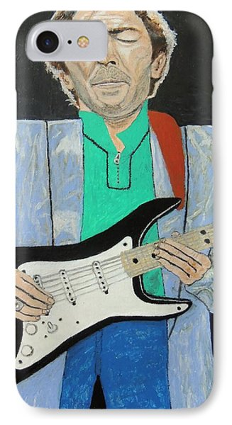 IPhone Case featuring the painting Old Slowhand. by Ken Zabel
