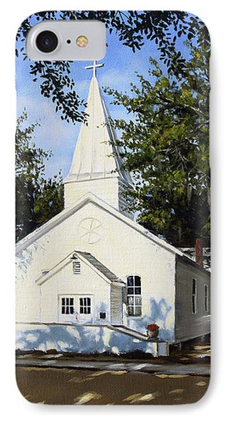 Old St. Andrew Church IPhone Case by Rick McKinney