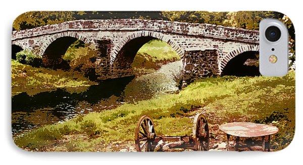 Old Stone Bridge In France IPhone Case