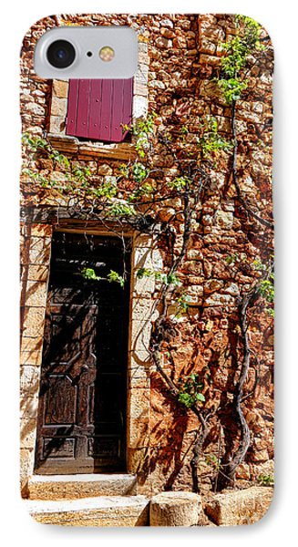 Old Stone House In Provence IPhone Case by Olivier Le Queinec