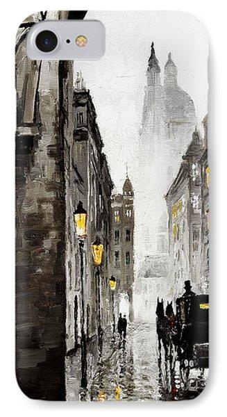 Old Street IPhone Case by Yuriy  Shevchuk