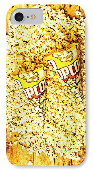Old Style Popcorn Cones  IPhone Case by Jorgo Photography - Wall Art Gallery