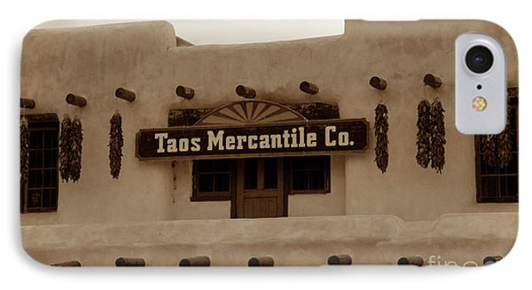 Old Taos Phone Case by David Lee Thompson