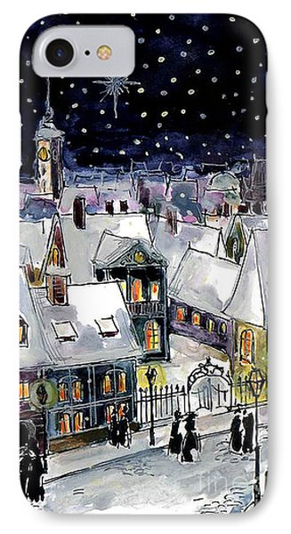 Old Time Winter IPhone Case by Mona Edulesco