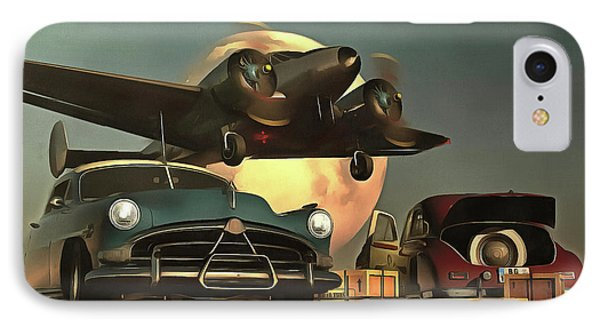 Old-timers With Airplane IPhone Case
