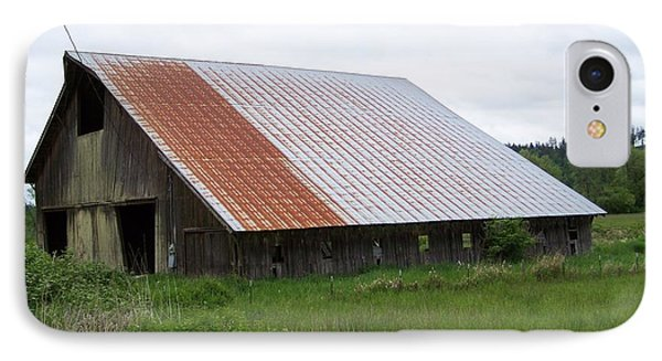 Old Tin Roof Barn Washington State Phone Case by Laurie Kidd