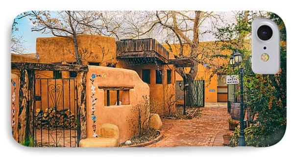 Old Town Albuquerque Secret Passageway  - Albuquerque New Mexico IPhone Case