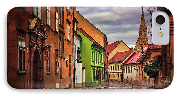 Old Town Bratislava  IPhone Case by Carol Japp