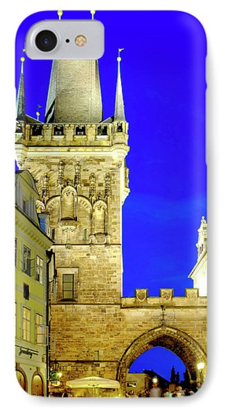 IPhone Case featuring the photograph Old Town Bridge Tower by Fabrizio Troiani